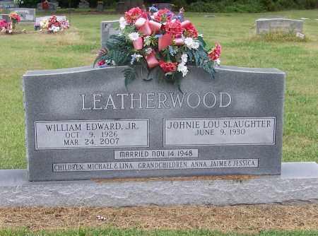 LEATHERWOOD JR., EDWARD - Craighead County, Arkansas | EDWARD LEATHERWOOD JR. - Arkansas Gravestone Photos