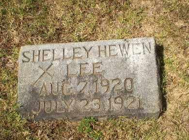 LEE, SHELLEY HEWEN (BABY) - Craighead County, Arkansas   SHELLEY HEWEN (BABY) LEE - Arkansas Gravestone Photos