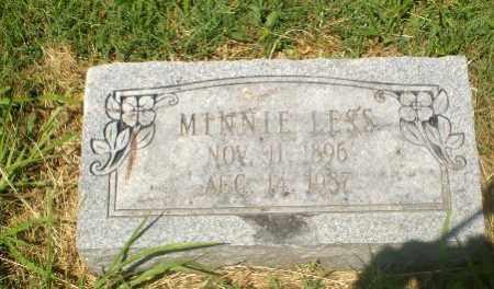 LESS, MINNIE - Craighead County, Arkansas   MINNIE LESS - Arkansas Gravestone Photos
