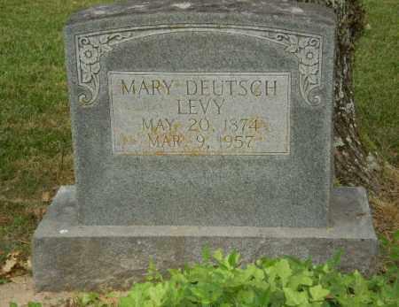 DEUTSCH LEVY, MARY - Craighead County, Arkansas | MARY DEUTSCH LEVY - Arkansas Gravestone Photos