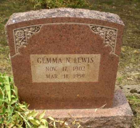 LEWIS, GEMMA N - Craighead County, Arkansas   GEMMA N LEWIS - Arkansas Gravestone Photos