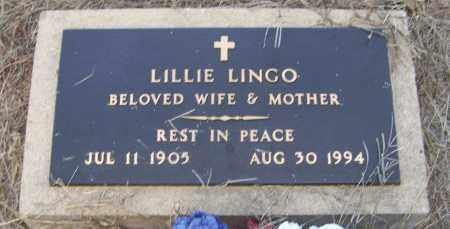 LINGO, LILLIE - Craighead County, Arkansas | LILLIE LINGO - Arkansas Gravestone Photos