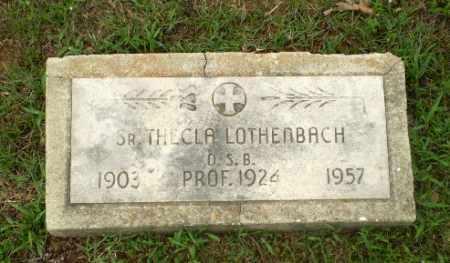 LOTHENBACH, SISTER THECLA - Craighead County, Arkansas | SISTER THECLA LOTHENBACH - Arkansas Gravestone Photos