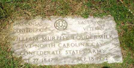 LOUDERMILK  (VETERAN CSA), WILLIAM MURPHY - Craighead County, Arkansas | WILLIAM MURPHY LOUDERMILK  (VETERAN CSA) - Arkansas Gravestone Photos