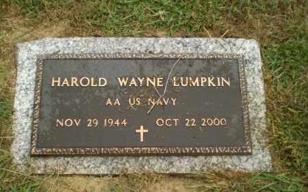 LUMPKIN  (VETERAN), HAROLD WAYNE - Craighead County, Arkansas | HAROLD WAYNE LUMPKIN  (VETERAN) - Arkansas Gravestone Photos
