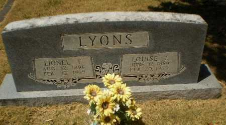 LYONS, LIONEL T - Craighead County, Arkansas | LIONEL T LYONS - Arkansas Gravestone Photos