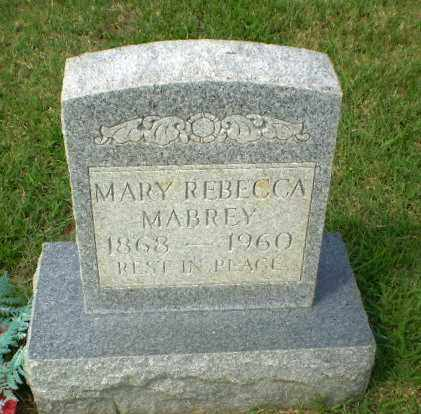 MABREY, MARY REBECCA - Craighead County, Arkansas   MARY REBECCA MABREY - Arkansas Gravestone Photos