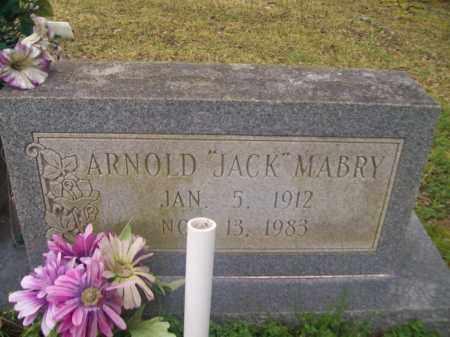 "MABRY, ARNOLD ""JACK"" - Craighead County, Arkansas | ARNOLD ""JACK"" MABRY - Arkansas Gravestone Photos"