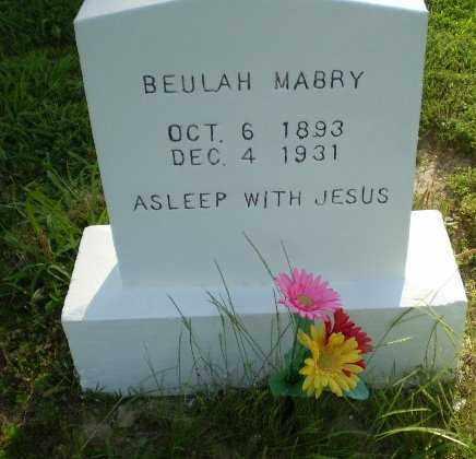 MABRY, BEULAH - Craighead County, Arkansas   BEULAH MABRY - Arkansas Gravestone Photos