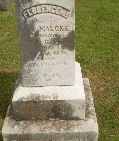 MALONE, FLORENCE A - Craighead County, Arkansas | FLORENCE A MALONE - Arkansas Gravestone Photos