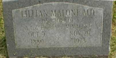 MALONE, LILLIAN - Craighead County, Arkansas | LILLIAN MALONE - Arkansas Gravestone Photos