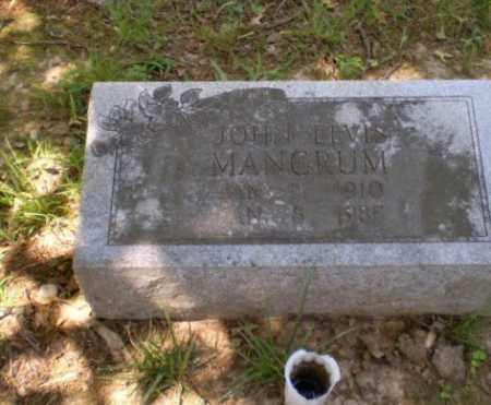 MANGRUM, JOHN ELVIS - Craighead County, Arkansas   JOHN ELVIS MANGRUM - Arkansas Gravestone Photos
