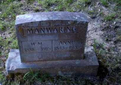 MANWARING, ANNE - Craighead County, Arkansas | ANNE MANWARING - Arkansas Gravestone Photos