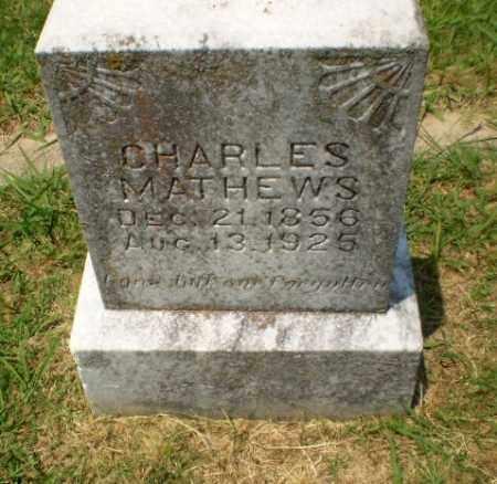 MATHEWS, CHARLES - Craighead County, Arkansas | CHARLES MATHEWS - Arkansas Gravestone Photos