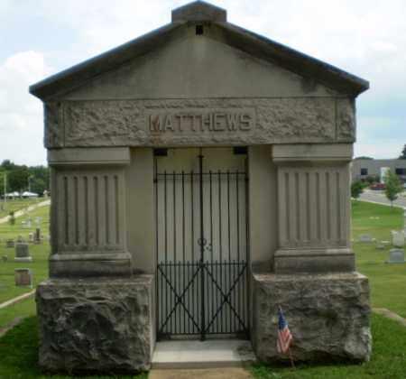 MATTHEWS, MAUSOLEUM - Craighead County, Arkansas | MAUSOLEUM MATTHEWS - Arkansas Gravestone Photos