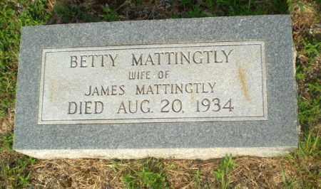MATTINGTLY, BETTY - Craighead County, Arkansas | BETTY MATTINGTLY - Arkansas Gravestone Photos