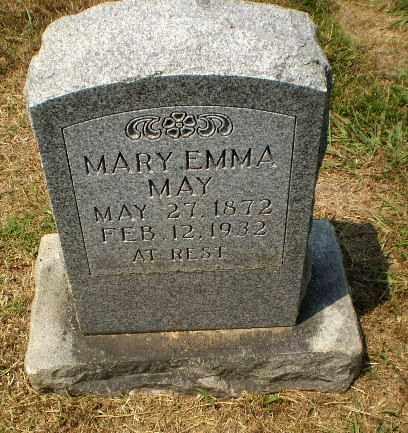 MAY, MARY EMMA - Craighead County, Arkansas | MARY EMMA MAY - Arkansas Gravestone Photos
