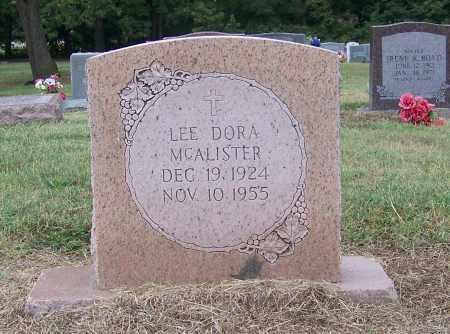MCALISTER, LEE DORA - Craighead County, Arkansas | LEE DORA MCALISTER - Arkansas Gravestone Photos