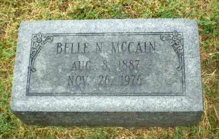 MCCAIN, BELLE N - Craighead County, Arkansas | BELLE N MCCAIN - Arkansas Gravestone Photos