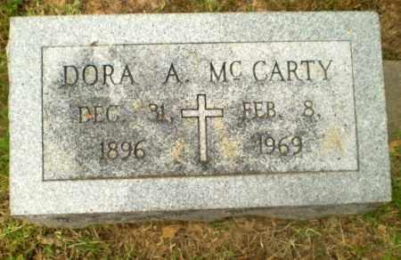MCCARTY, DORA A - Craighead County, Arkansas   DORA A MCCARTY - Arkansas Gravestone Photos