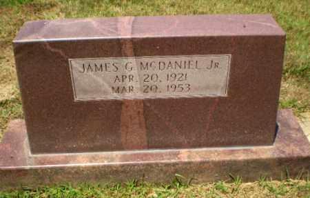 MCDANIEL, JR, JAMES G - Craighead County, Arkansas | JAMES G MCDANIEL, JR - Arkansas Gravestone Photos
