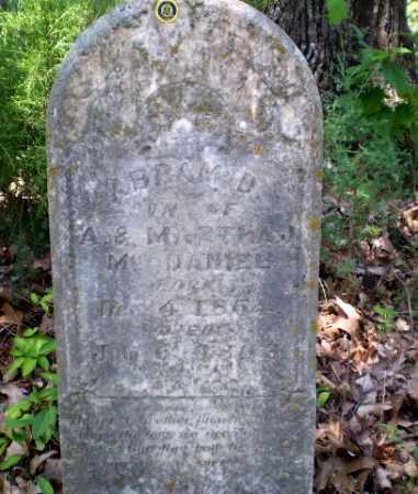 MCDANIEL, ABRAM D - Craighead County, Arkansas | ABRAM D MCDANIEL - Arkansas Gravestone Photos