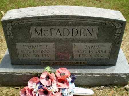 MCFADDEN, JIMMIE S - Craighead County, Arkansas | JIMMIE S MCFADDEN - Arkansas Gravestone Photos