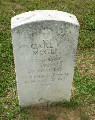 MCGEE  (VETERAN), CARL E - Craighead County, Arkansas | CARL E MCGEE  (VETERAN) - Arkansas Gravestone Photos