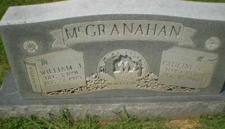 MCGRANAHAN, WILLIAM J - Craighead County, Arkansas   WILLIAM J MCGRANAHAN - Arkansas Gravestone Photos