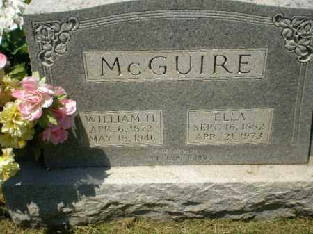 MCGUIRE, WILLIAM H - Craighead County, Arkansas | WILLIAM H MCGUIRE - Arkansas Gravestone Photos