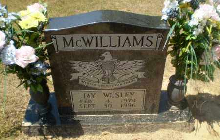 MCWILLIAMS, JAY WESLEY - Craighead County, Arkansas | JAY WESLEY MCWILLIAMS - Arkansas Gravestone Photos