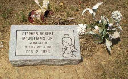 MCWILLIAMS, STEPHEN ROBERT (INFANT) - Craighead County, Arkansas | STEPHEN ROBERT (INFANT) MCWILLIAMS - Arkansas Gravestone Photos