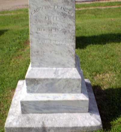 MEEK, CAROLINE FRANCES - Craighead County, Arkansas | CAROLINE FRANCES MEEK - Arkansas Gravestone Photos
