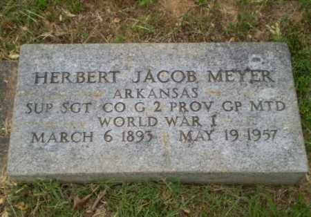MEYER  (VETERAN WWI), HERBERT JACOB - Craighead County, Arkansas | HERBERT JACOB MEYER  (VETERAN WWI) - Arkansas Gravestone Photos