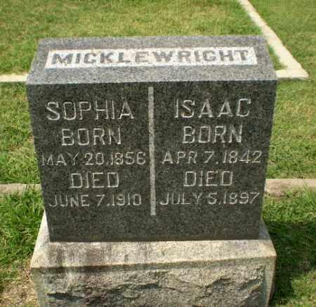 MICKLEWRIGHT, ISAAC - Craighead County, Arkansas | ISAAC MICKLEWRIGHT - Arkansas Gravestone Photos