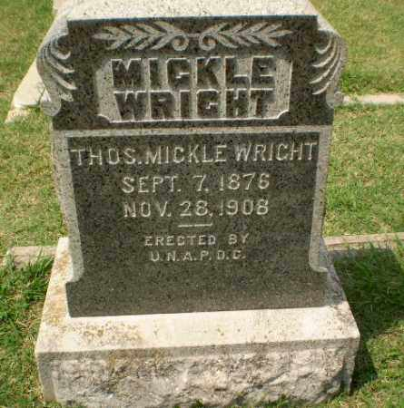 MICKLEWRIGHT, THOS. - Craighead County, Arkansas | THOS. MICKLEWRIGHT - Arkansas Gravestone Photos