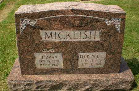 MICKLISH, FLORENCE L - Craighead County, Arkansas | FLORENCE L MICKLISH - Arkansas Gravestone Photos