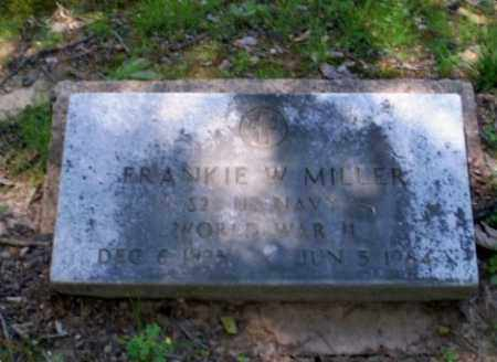 MILLER (VETERAN WWII), FRANKIE W. - Craighead County, Arkansas | FRANKIE W. MILLER (VETERAN WWII) - Arkansas Gravestone Photos