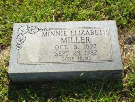 MILLER, MINNIE ELIZABETH - Craighead County, Arkansas   MINNIE ELIZABETH MILLER - Arkansas Gravestone Photos
