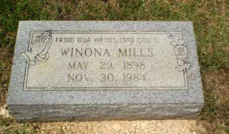 MILLS, WINONA - Craighead County, Arkansas | WINONA MILLS - Arkansas Gravestone Photos
