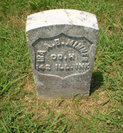 MINNER   (VETERAN UNION), IRA A.B. - Craighead County, Arkansas | IRA A.B. MINNER   (VETERAN UNION) - Arkansas Gravestone Photos