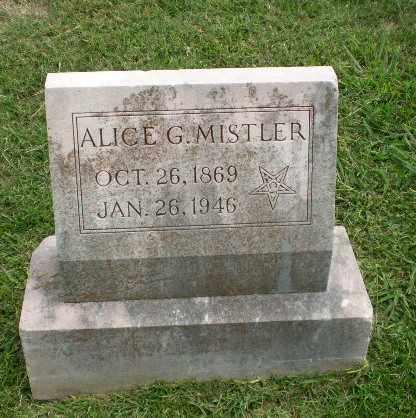 MISTLER, ALICE G - Craighead County, Arkansas   ALICE G MISTLER - Arkansas Gravestone Photos