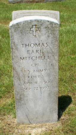MITCHELL  (VETERAN KOR), THOMAS EARL - Craighead County, Arkansas   THOMAS EARL MITCHELL  (VETERAN KOR) - Arkansas Gravestone Photos