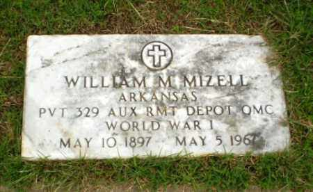MIZELL  (VETERAN WWI), WILLIAM M - Craighead County, Arkansas | WILLIAM M MIZELL  (VETERAN WWI) - Arkansas Gravestone Photos