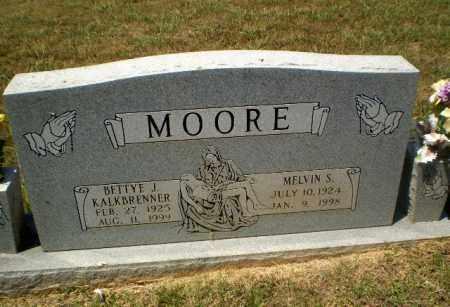 KALKBRENNER MOORE, BETTYE J - Craighead County, Arkansas | BETTYE J KALKBRENNER MOORE - Arkansas Gravestone Photos