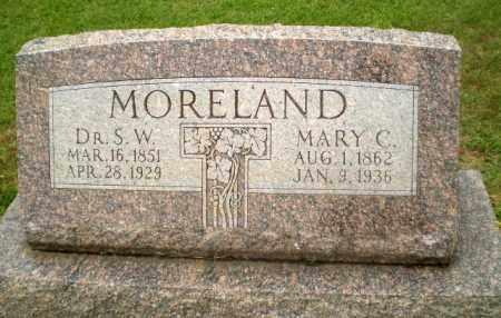 MORELAND, DR, S.W. - Craighead County, Arkansas | S.W. MORELAND, DR - Arkansas Gravestone Photos