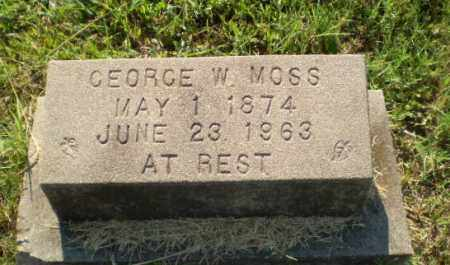 MOSS, GEORGE W - Craighead County, Arkansas | GEORGE W MOSS - Arkansas Gravestone Photos