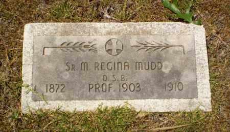 MUDD, SISTER M. REGINA - Craighead County, Arkansas | SISTER M. REGINA MUDD - Arkansas Gravestone Photos