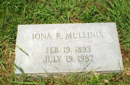 MULLINIX, IONA R - Craighead County, Arkansas | IONA R MULLINIX - Arkansas Gravestone Photos