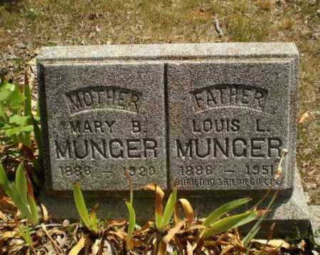 MUNGER, MARY B - Craighead County, Arkansas | MARY B MUNGER - Arkansas Gravestone Photos